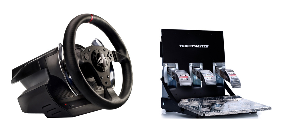 This Gran Turismo Wheel and Pedal Set Is Prettier than the Game