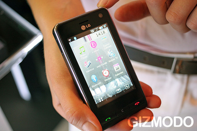 LG KU990 Viewty Touchscreen Cellphone Can Now Record 640x480 DivX at 120FPS