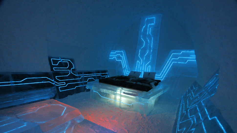 I Want To Stay At This Tron Hotel Room Inside An Ice Hotel