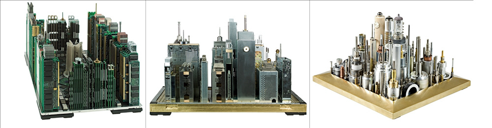 Miniature Cities Rise from the Ashes of Busted Technology