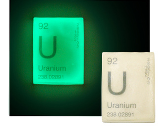 Glow-in-the-Dark Uranium Soap