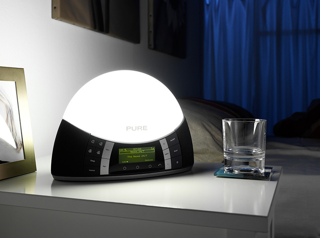 "Pure Combines SAD Light With a Digital Radio for Edward Cullen-Free ""Twilight"" Lamp"