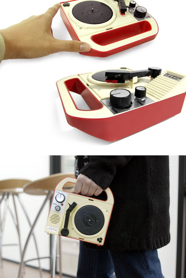 12 Portable Record Players Gallery