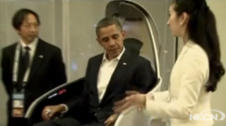 The Day Obama Awkwardly Hung Out With Some Robots