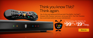 Tivo Premiere Box Is Free (with Two-Year $20 Monthly Subscription)