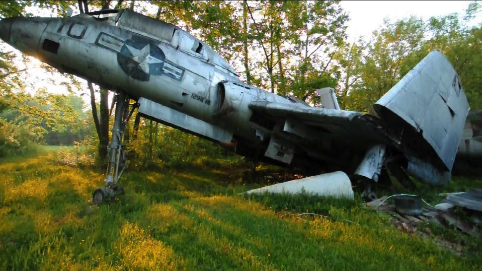 Secret Ohio Warplane Graveyard Unearthed
