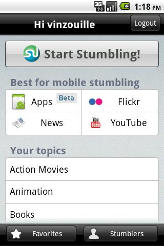 StumbleUpon App Discovery Guides You To New Android Apps