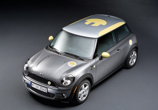 Mini E Electric Car Perfect For Al Gore Remake of Italian Job