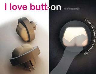Butt-on is Probably the Most Fondleable Night Lamp Ever
