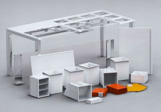 Modular Workspace is an Obsessive Compulsive Organizer's Dream