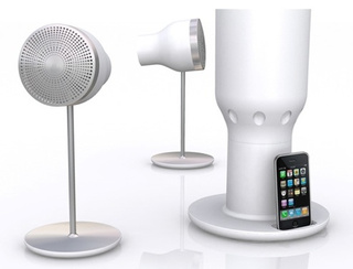 EOps i24R3 Wireless Gesture-Control iPhone Speaker is Quite Beautiful, Actually