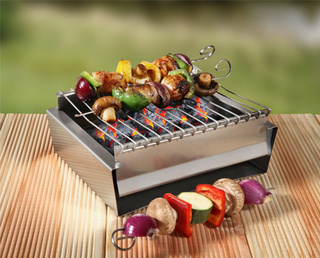 BabyQ Barbecue Lets You Grill On The Go