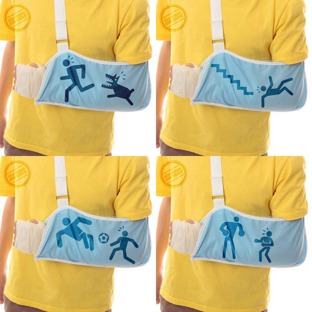 Illustrative Slings Show How That Arm Got Boned