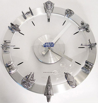 Custom Star Wars Clock Preys On Innocent Dorks