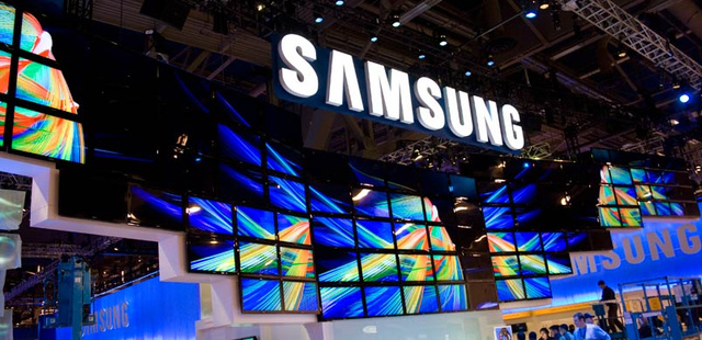 Samsung Booth Spreads Its Wings with 117 HDTVs