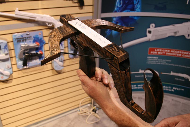 Wii Crossbow with Laser Sight is Perfect for all the Wii Games Involving Crossbows