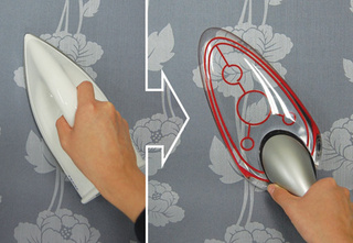 See-Through Iron Concept is Beautiful, Might Burn Crop Circles in Your Clothes
