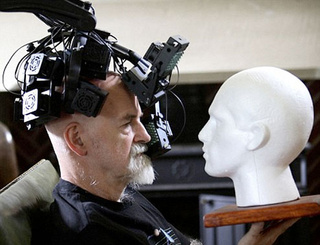 Terry Pratchett Battles Alzheimer's With Retro-Futurist Headgear