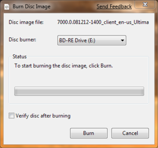 Win 7 Tip: ISO Disc Image Burning Is Built Right In