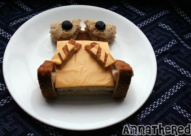 The Wall-E Cheese Sandwich