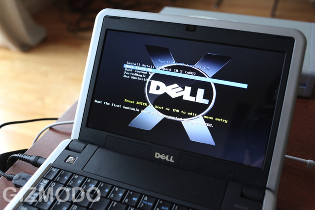How To: Hackintosh a Dell Mini 9 Into the Ultimate OS X Netbook