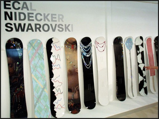 These Swarovski Snowboards Will Get Stolen If You Bring Them to Snowmodo