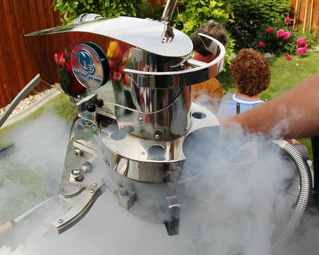 Make Perfect Ice Cream with the $35,000 NitroCream N2-G4