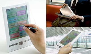 Fujitsu FLEPia Color eBook Reader Has Finally Arrived, Yours For $1000