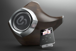 All-In-One Speakers Concept Saves Space and Looks Like Alien Hardware