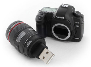 Well, at Least This Tiny Canon 5D Mark II USB Flash Drive Can Store HD Vids