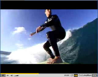GoPro Attached to Surfboard For Recording Awesome Wipeouts