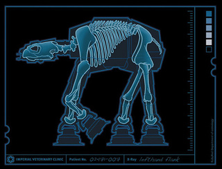AT-AT Walker X-Rayed: It's a Dinosaur!