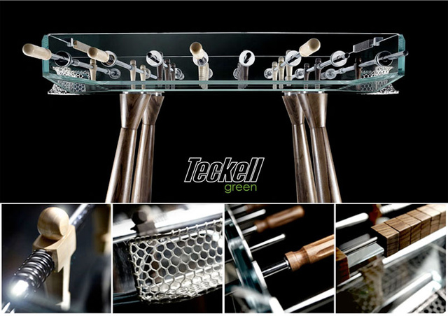 Glass Foosball Table Has Serious Consequences for Spinnies