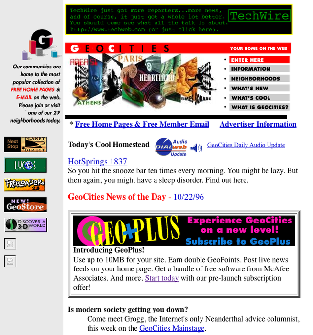 RIP GeoCities, You Will Be Missed