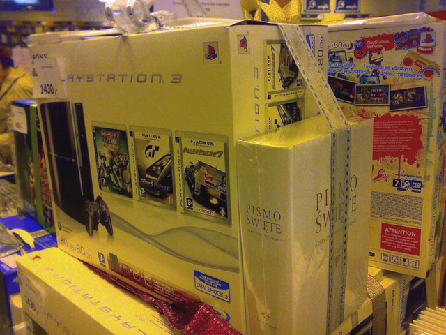 The PlayStation 3 Bundled With 3 Games, 1 Bible