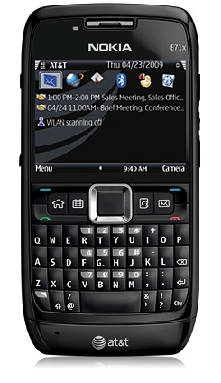 Nokia E71x Now Available on AT&T for $99