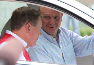 Ballmer Scores a Fusion Hybrid From Ford CEO