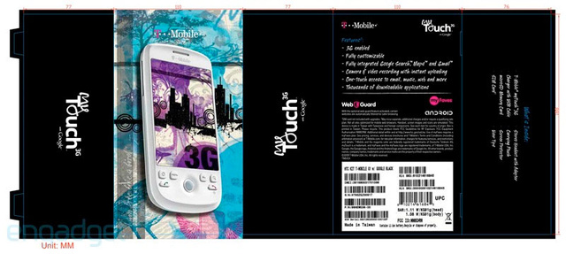 HTC Magic Reborn, Repackaged as the T-Mobile MyTouch 3G