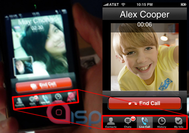 Rumor Smash: iPhone Videoconference Shots Are Fake