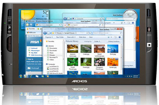 Archos' Latest Touch Tablet, the Archos9, Runs Windows 7