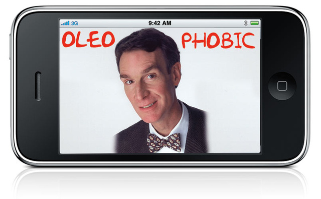 Giz Bill Nye Explains: The iPhone 3GS's Oleophobic Screen