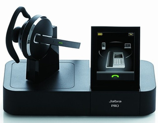 Jabra Go 6400 and Pro 9400 Bluetooth Headphones Have a Touchscreen Base Dock