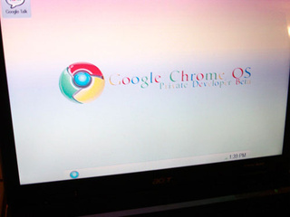 Are These the First Chrome OS Screenshots?