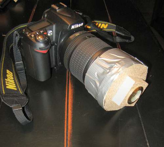 How to: Make a Fisheye DSLR Lens for $16