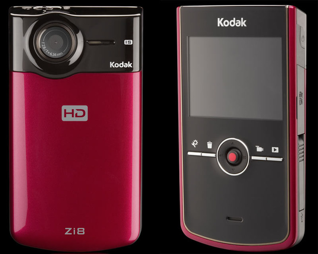 Kodak Zi8 Wallops Flip With 1080p, Image Stabilizer and SD Slot