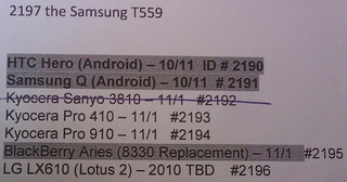 Is Sprint Landing the HTC Hero In October?