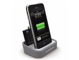 Kensington Dock Charges Mini Battery Alongside Your iPhone/iPod