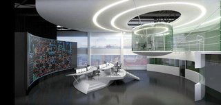 Star Trek Meets Golden Eye at Moscow Electricity Control Center
