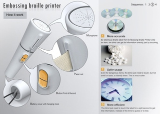 Embossing Braille Printer Gallery