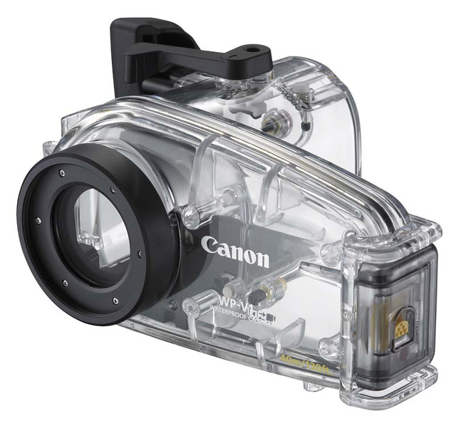 Review: Diving with the Waterproofed Canon HF20